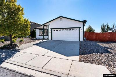 Reno Single Family Home For Sale: 17882 Bear River Court