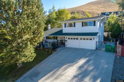Carson City Single Family Home For Sale: 808 Terrace St