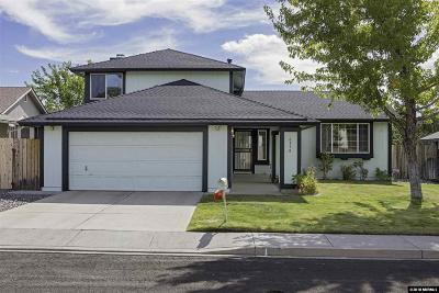 Reno Single Family Home For Sale: 6350 Fairhaven Place