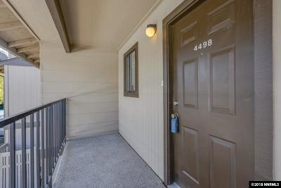 Reno Condo/Townhouse For Sale: 4498 Matich