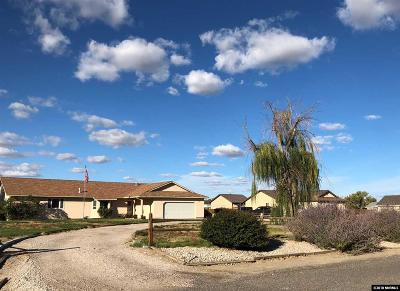Fallon Single Family Home For Sale: 641 Sunshine Loop