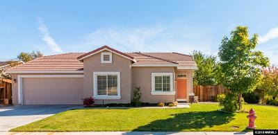 Sparks Single Family Home Active/Pending-Loan: 6424 Adobe Springs