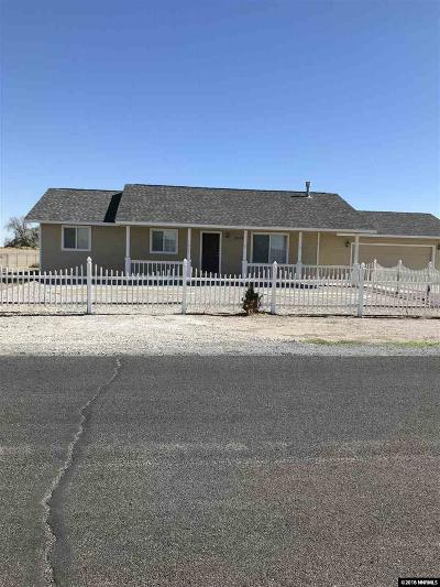 Fallon Single Family Home For Sale: 1202 Robin Drive