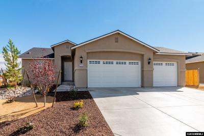 Sparks Single Family Home Active/Pending-Loan: 2296 Big Bird Dr. Lot 21