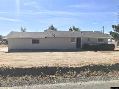 Reno Single Family Home For Sale: 11620 Overland Rd