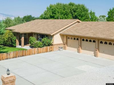Washoe County Single Family Home Active/Pending-Loan: 14420 Rim Rock Dr
