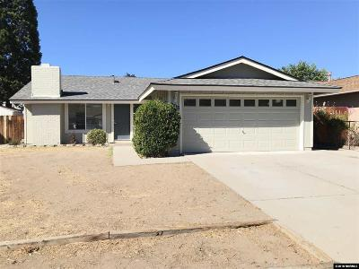 Sparks Single Family Home Active/Pending-Call: 2315 Howard Dr