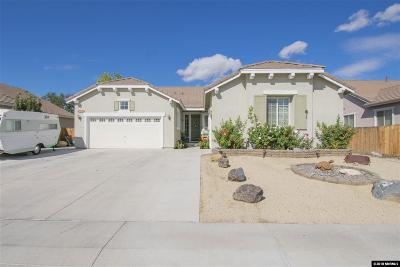 Fernley Single Family Home For Sale: 2966 North Fork