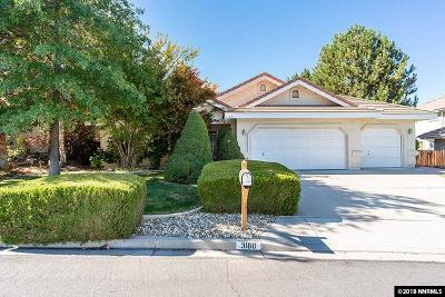 Washoe County Single Family Home Active/Pending-Loan: 3180 Greensburg Circle