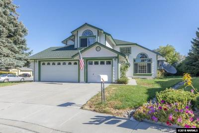 Sparks Single Family Home For Sale: 4335 Titan Court