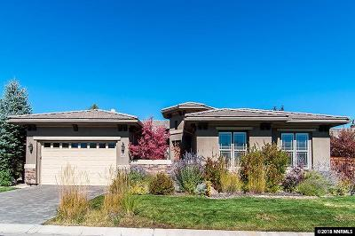 Reno, Sparks, Carson City, Gardnerville Single Family Home For Sale: 10126 Via Fiori