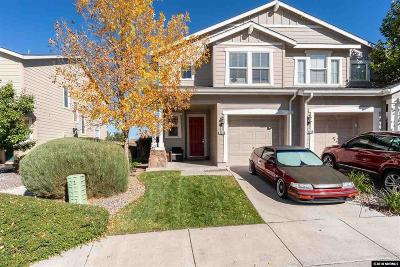 Reno Single Family Home Active/Pending-Loan: 9268 Lone Wolf Circle