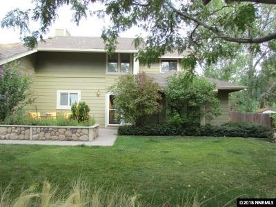 Washoe County Single Family Home Active/Pending-Loan: 115 Cliff View
