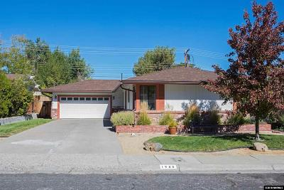 Reno Single Family Home For Sale: 1985 Windsor Way