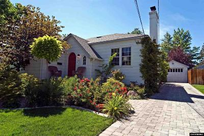 Washoe County Single Family Home Price Reduced: 1411 Gordon Ave