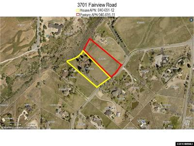 Reno Residential Lots & Land For Sale: 3655 Fairview Road