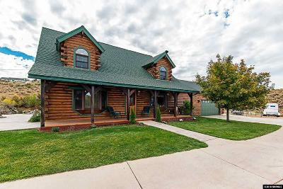 Washoe County Single Family Home New: 8705 Spearhead