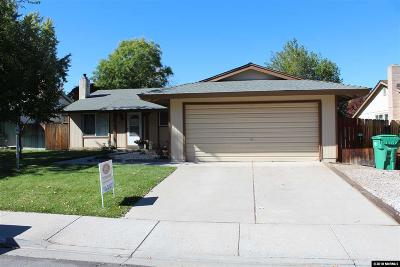 Carson City NV Single Family Home Active/Pending-House: $319,900