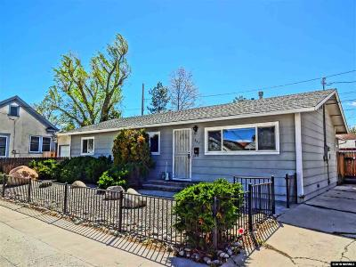 Washoe County Single Family Home Active/Pending-Call: 757 Walker Avenue
