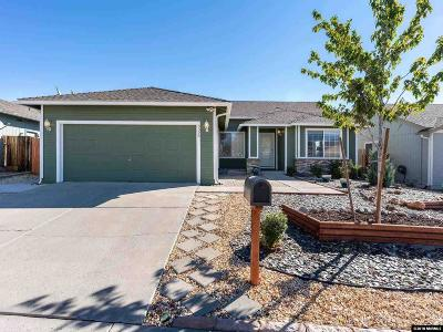 Washoe County Single Family Home Active/Pending-Loan: 3326 Epic Ave