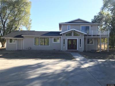 Gardnerville Single Family Home For Sale: 1939 Pinto Circle