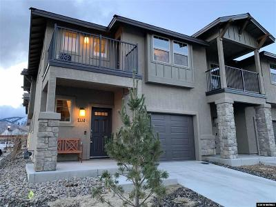 Carson City Condo/Townhouse For Sale: 1348 Saltern Dr