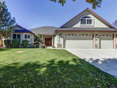Gardnerville Single Family Home Active/Pending-Loan: 1366 Macenna Lane