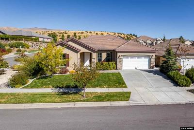 Reno Single Family Home New: 1190 Cliff Park Way
