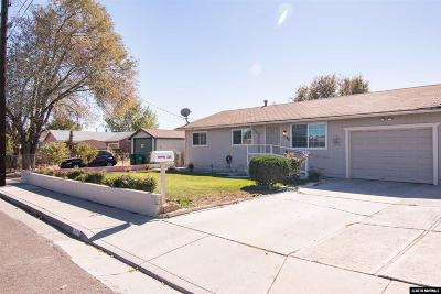 Reno Single Family Home New: 1340 Oliver Avenue