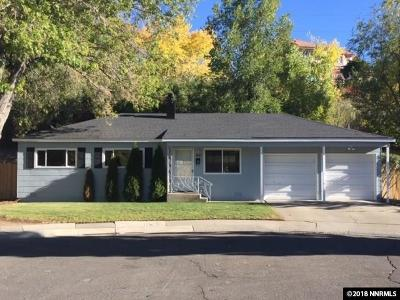 Reno Single Family Home New: 40 Kaye