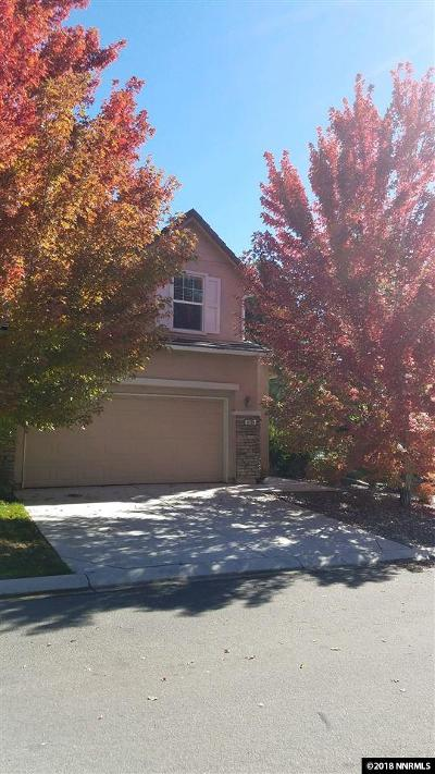 Sparks Single Family Home For Sale: 6700 Altesino Drive