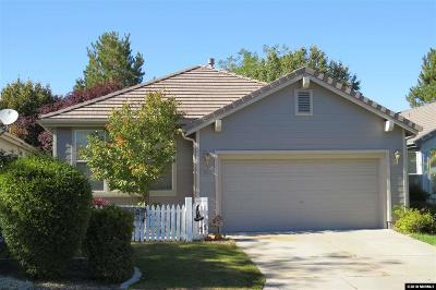 Washoe County Single Family Home New: 835 Caughlin Crossing