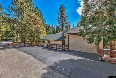 Zephyr Cove Single Family Home Active/Pending-Loan: 278 Paiute Drive