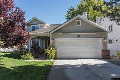 Washoe County Single Family Home For Sale: 831 Blue Falls Place