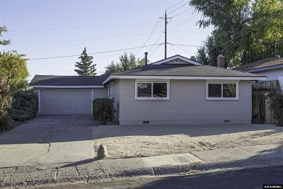 Washoe County Single Family Home New: 1950 Brisbane Ave
