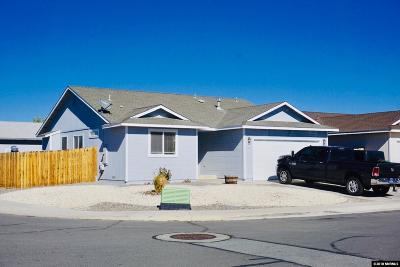 Fernley Single Family Home Active/Pending-Loan: 318 Emigrant Way