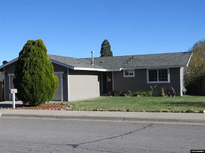 Carson City Single Family Home For Sale: 947 Tourmaline Dr.