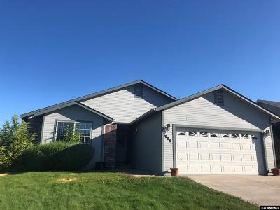 Carson City Single Family Home Active/Pending-Call: 1000 Ridgeview Drive