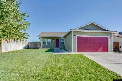 Fernley Single Family Home For Sale: 115 Relief Springs