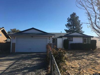 Washoe County Single Family Home For Sale: 7680 Yorkshire Dr