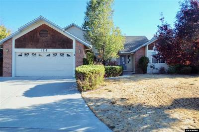 Gardnerville Single Family Home New: 1217 Fieldgate