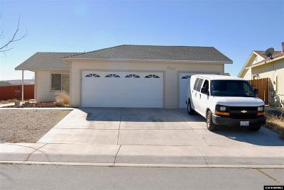 Fernley Single Family Home Active/Pending-Loan: 201 Emigrant