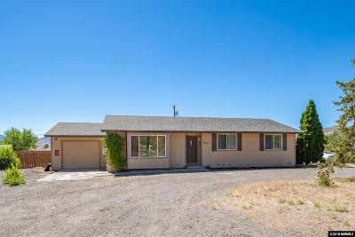 Washoe County Single Family Home For Sale: 3910 Peregrine Circle