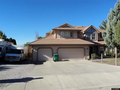 Washoe County Single Family Home Active/Pending-Short Sale: 1385 Comstock Estates