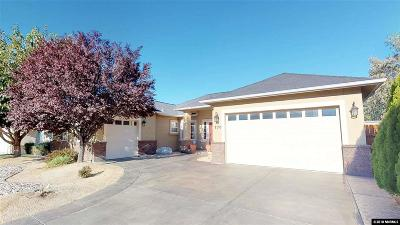 Fernley Single Family Home For Sale: 770 Divot Drive