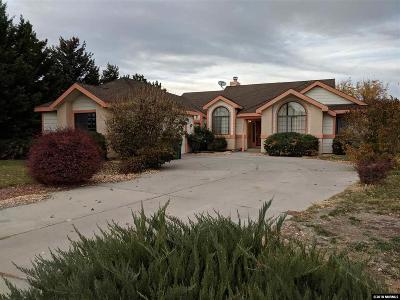 Washoe County Single Family Home For Sale: 14190 Riata Circle