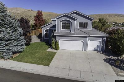 Washoe County Single Family Home Active/Pending-Loan: 5741 Brittania Drive