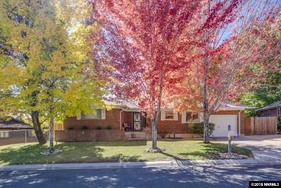 Washoe County Single Family Home For Sale: 1075 Williams Avenue