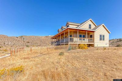 Virginia City Single Family Home For Sale: 2850 Slippery Gulch Road