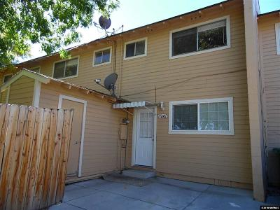 Carson City Condo/Townhouse For Sale: 1240 S Curry